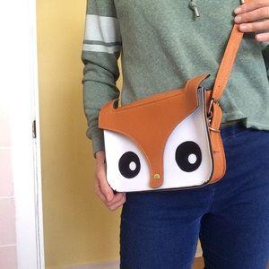 Bags - Fox Face Crossbody Bag
